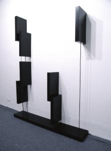 Foreground (2009) - 8ch sound installation - 275 × 182 × 30cm