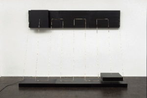 Canvas (2007) - 4ch sound installation - 197 × 270 × 110cm
