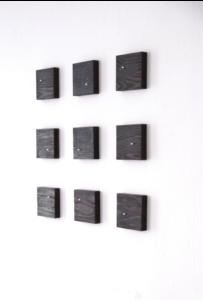 Lives (2008) - 9ch sound installation - 90 x 90 x 3.5cm