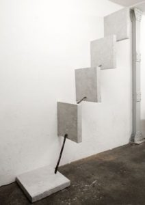 Steps (2008) - 5ch sound installation - 250 × 140 × 50cm